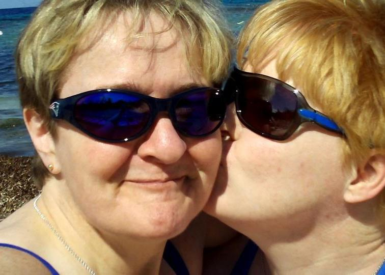 Corinne and I