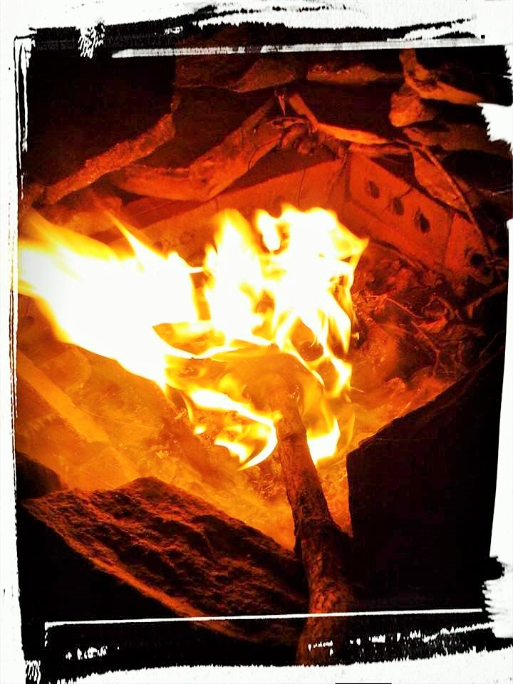 A New England Campfire