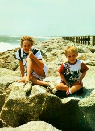 Josh and Beth at Wrightsville Beach
