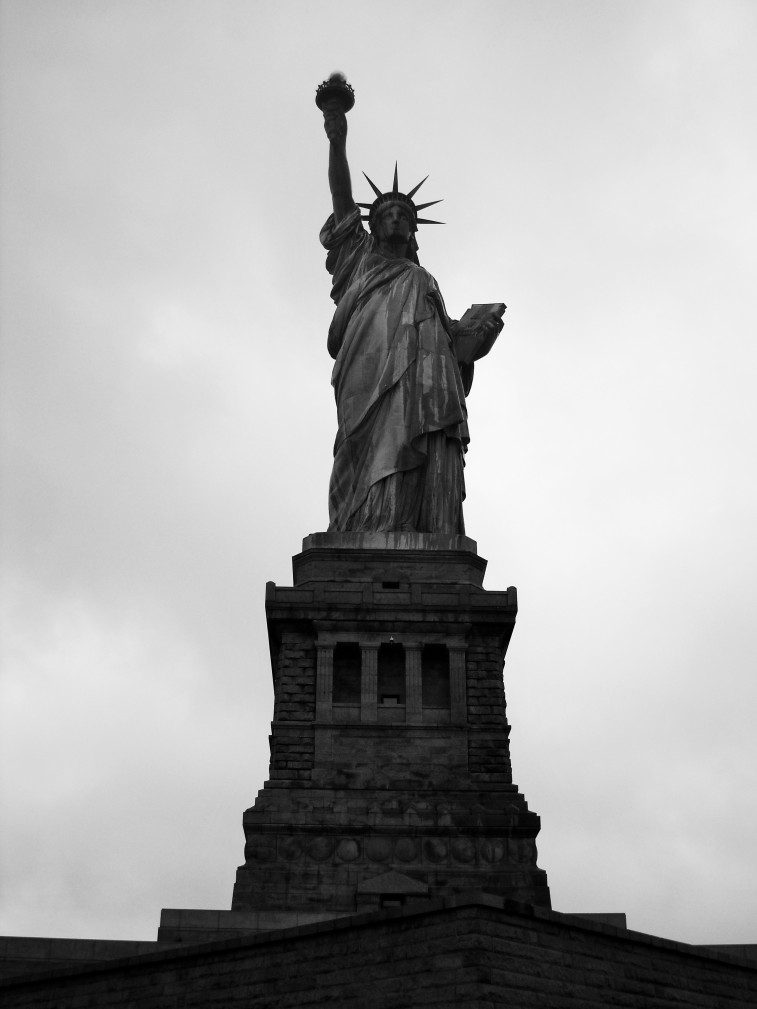 Our dear lady of liberty